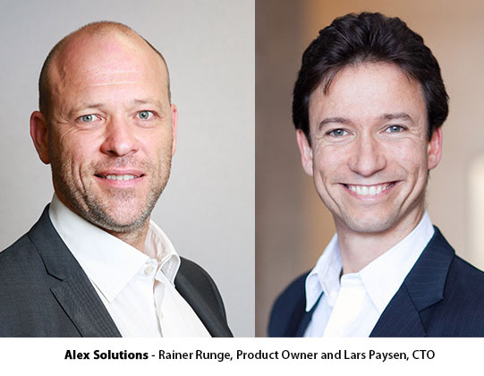 Alex Solutions - Rainer Runge, Product Owner and Lars Paysen, CTO